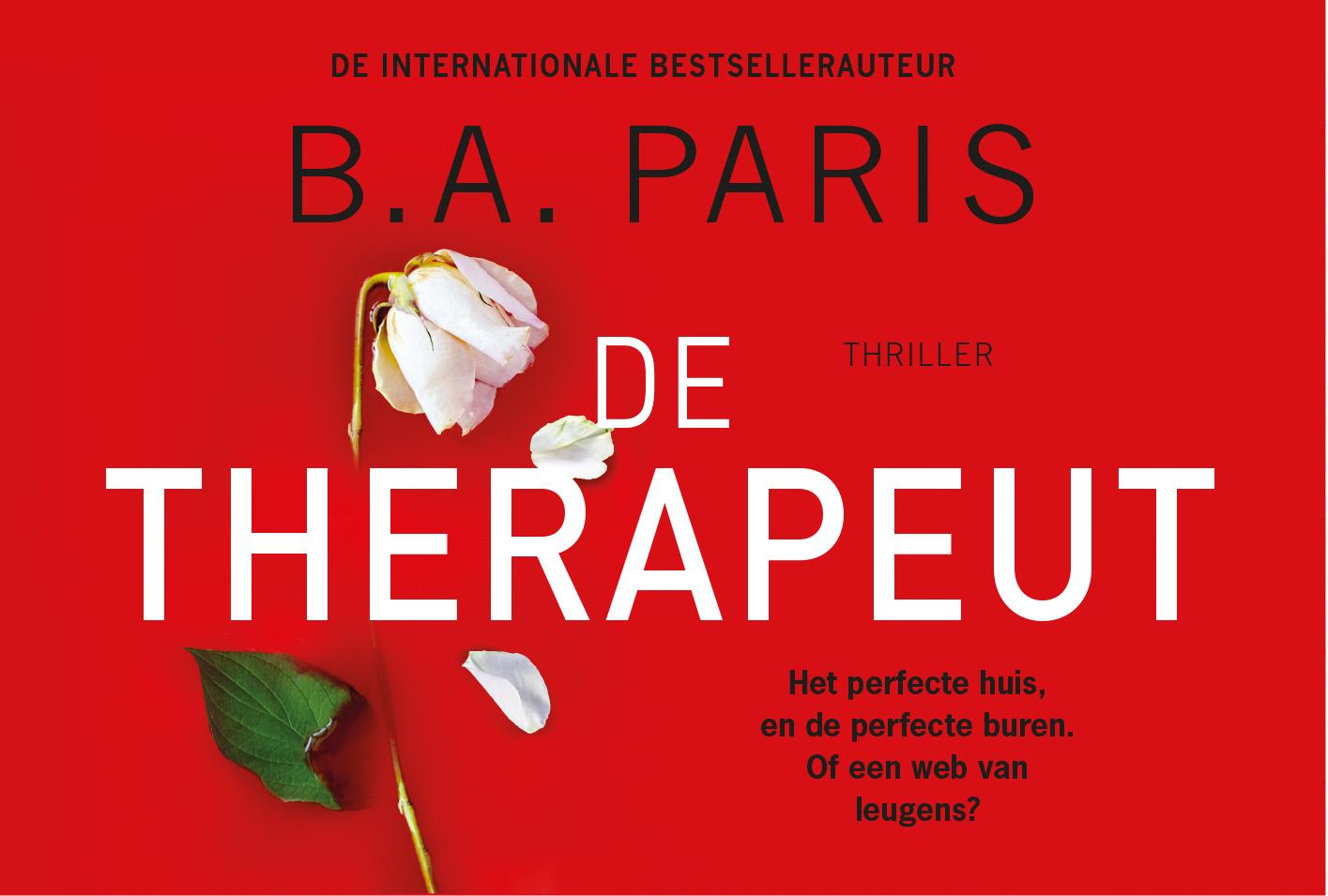 B.A. Paris,De therapeut