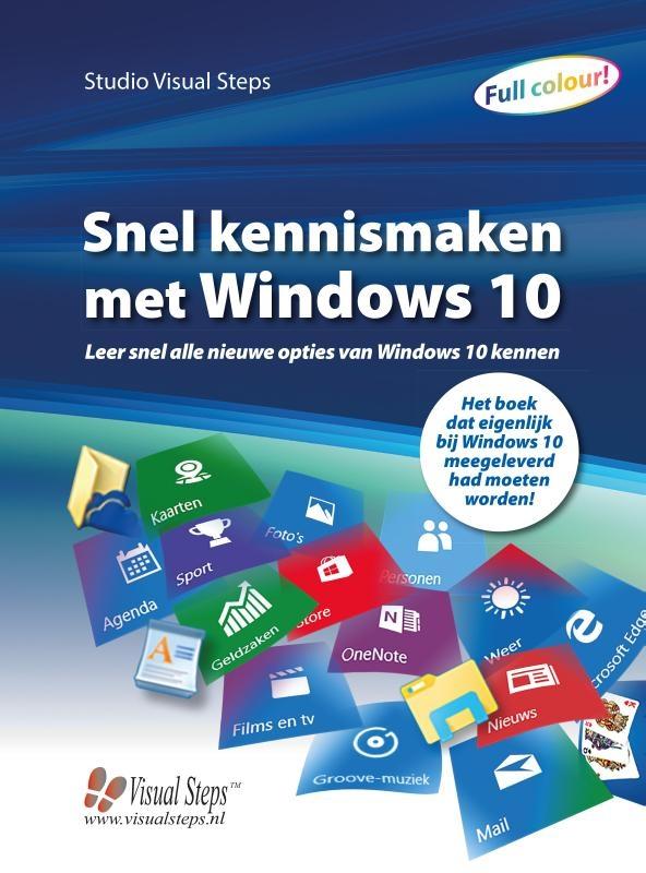 Studio Visual Steps,Snel kennismaken met Windows 10