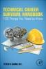 Burke, Peter Y.,Technical Career Survival Handbook