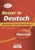 Brand, Thomas,Besser in der Sekundarstufe II Deutsch. Literarische Texte interpretieren (Neubearbeitung)