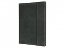,notitieboek Conceptum 194blz hard Vintage Dark Grey         207x280mm geruit