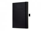 ,notitieboek Sigel Conceptum softcover A5 zwart geruit
