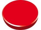 ,magneet Alco 38mm rond doos a 10 stuks rood