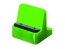 ,Smartphone standaard HAN Smart Line 72x72x74mm New Colour   groen