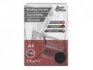 ,schutbladen ProfiOffice A4 270gr. karton 100 stuks leer     zwart