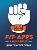 <b>Gonny van der Zwaag</b>,Fit met Apps & Wearables