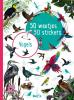 ,<b>50 weetjes, 50 stickers: vogels</b>