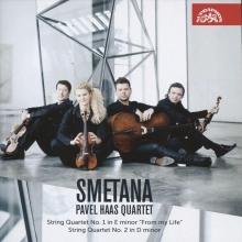 Haas , Cd smetana string quartets 1 & 2