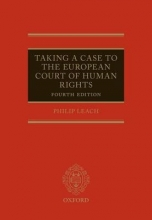 Leach, Philip Taking a Case to the European Court of Human Rights