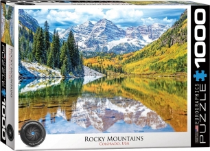 Eur-6000-5472 , Puzzel rocky mountain national park - 1000 stuks