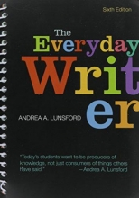 Lunsford, Andrea A. Everyday Writer [With Access Code]