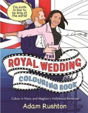 Adam Rushton The Royal Wedding Colouring Book