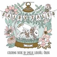 ,Emelie,Lidehall Oberg Fairy Tales Coloring Book