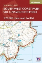 Dillon, Paddy South West Coast Path Map Booklet - Vol 3: Plymouth to Poole