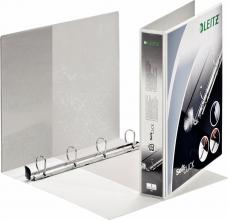 , Presentatieringband Leitz SoftClick A4 Maxi 4-rings D-mech 30mm wit