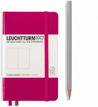 , Leuchtturm pocket notitieboek 90x150 berry dots