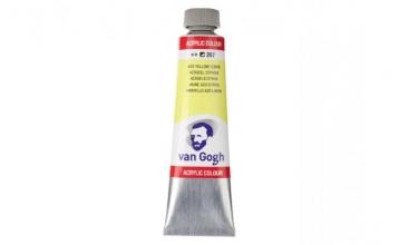 , Talens van gogh acrylverf tube 40 ml azogeel citroen 267