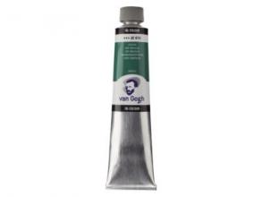 , Talens van gogh olieverf tube 200 ml emeraud groen 616