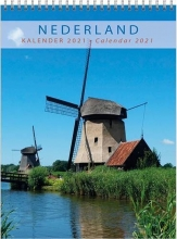 , Maandkalender 2021 holland 33x44