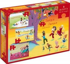 Tff-883522 , Puzzel joepie joepie - marijke ten cate 4 puzzels (12-16-20-24)