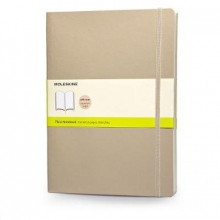 Moleskine Soft Extra Large Khaki Beige Plain Notebook