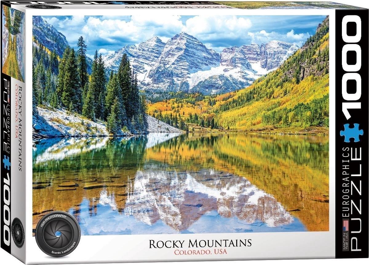 Eur-6000-5472,Puzzel rocky mountain national park - 1000 stuks