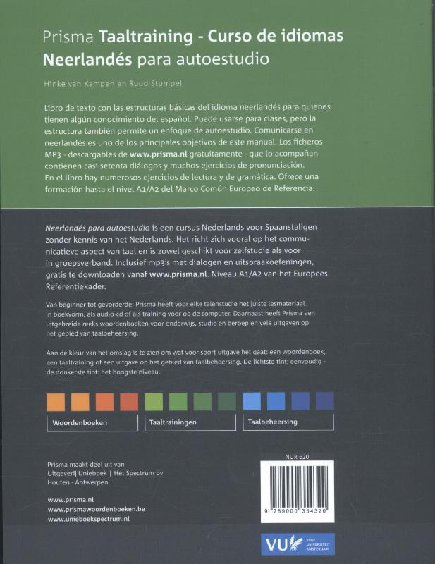Henriette van Kampen, Ruud Stumpel,Neerlandés para autoestudio ; Nederlands voor zelfstudie