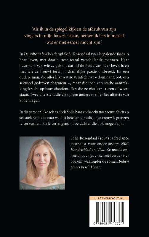 Sofie  Rozendaal,De stilte in bed