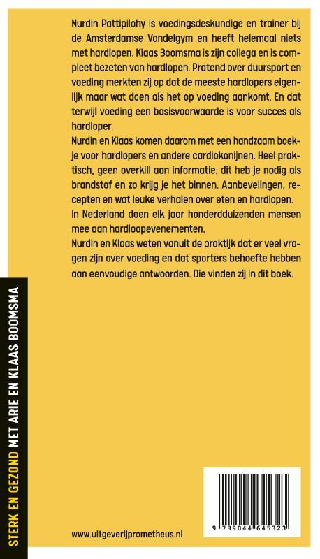 Nurdin Pattipilohy, Klaas Boomsma,Brandstof voor lopers