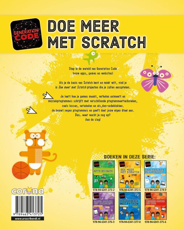 Max Wainewright,Doe meer met Scratch