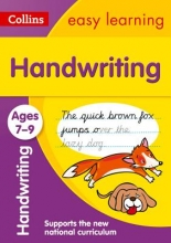 Collins Easy Learning Handwriting Ages 7-9: New edition