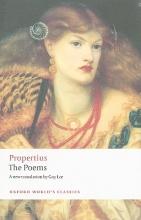 Propertius, Sextus The Poems