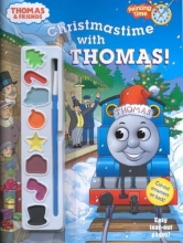 Awdry, W. Christmastime with Thomas (Thomas & Friends) [With Paint Brush and 8 Paints]