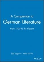 Sagarra, Eda A Companion to German Literature