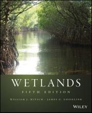 William J. Mitsch,   James G. Gosselink Wetlands