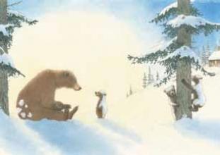 *Poster Sneeuwberen set 25 ex.