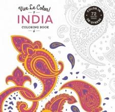 Dawn,Devries Sokol Vive le Color! India (coloring Book)