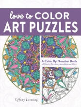 Lovering, Tiffany Love to Color Art Puzzles
