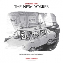 Cartoons from the New Yorker 2019 Square Wall Calendar