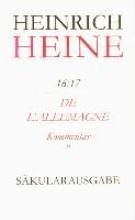 Heine, Heinrich De l`Allemagne. Kommentar. Teilband II