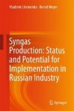 Litvinenko, Vladimir Syngas Production: Status and Potential for Implementation in Russian Industry