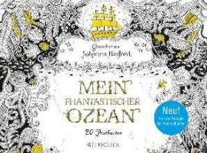 Basford, Johanna Mein Phantastischer Ozean - Postkartenbuch