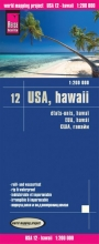 , Reise Know-How Landkarte USA 12, Hawaii  1 : 200 000