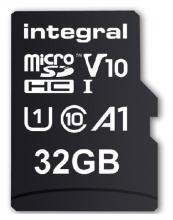 , Geheugenkaart Integral microSDHC V10 32GB