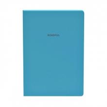 , Notitieboek Quattro Colori original A5 azuurblauw