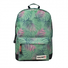 , BE-LEAF GREEN BACKPACK MET LAPTOPVAK (GRUWW) 1X34,95