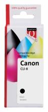 , Inktcartridge Quantore Canon CLI-8 zwart+chip