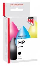 , Inktcartridge Quantore HP CB336EE 350XL zwart