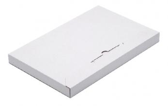 , Brievenbusbox CleverPack A4 350x230x26mm karton wit 5stuks