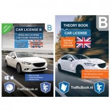 , Auto Theorieboek Engels 2020 met Engelse Auto Theorie CD - Car Theory Book + Exam CD